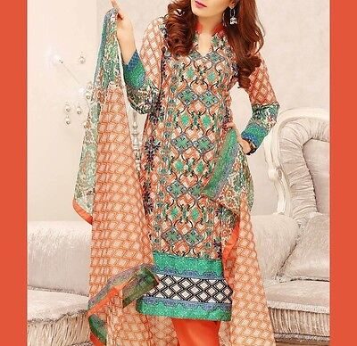 Brand New Authentic Designer Nakaash 3 Pcs Suit, Stitched, Reduced SALE PRICES