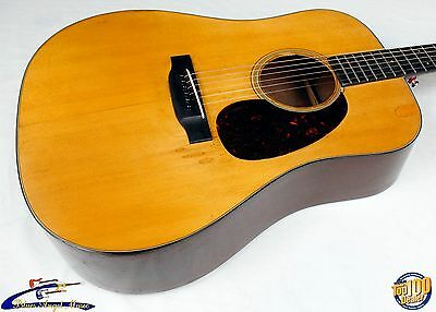 Martin Pre-War 1940-1941 Vintage D-18 Dreadnought Acoustic Guitar w/ HSC! #37625