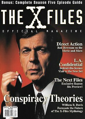 The X-Files Official Magazine - Fall 1998 - Cigarette Smoking Man