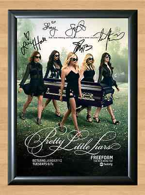 Pretty Little Liars Shay Mitchell Signed Autographed A4 Print Photo Memorabilia