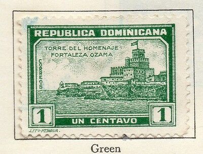 Dominican Republic 1933 Early Issue Fine Used 1c. 104008