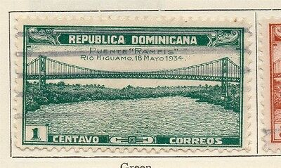 Dominican Republic 1934 Early Issue Fine Used 1c. 104018