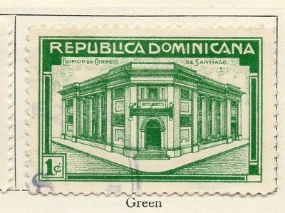 Dominican Republic 1936 Early Issue Fine Used 1c. 104028