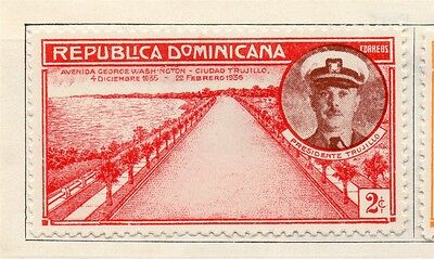 Dominican Republic 1936 Early Issue Fine Mint Hinged 2c. 104030