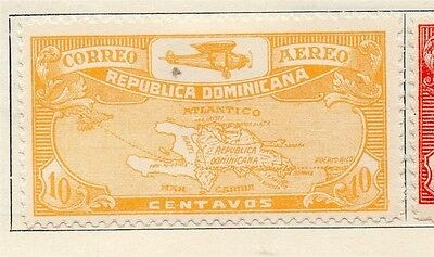 Dominican Republic 1930 Early Issue Fine Mint Hinged 10c. 104046