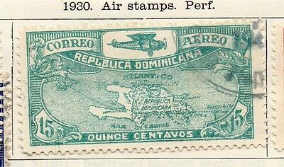 Dominican Republic 1930 Early Issue Fine Used 15c. 104056