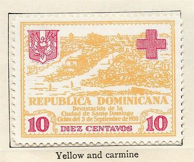 Dominican Republic 1930 Early Issue Fine Mint Hinged 10c. 104061