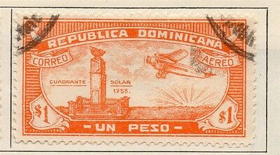 Dominican Republic 1931-33 Early Issue Fine Used $1. 104075