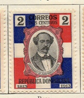 Dominican Republic 1914 Early Issue Fine Mint Hinged 2c. 104096