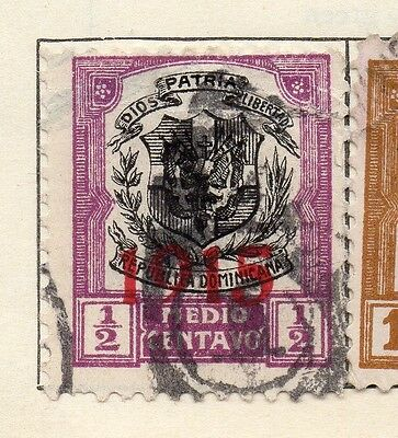 Dominican Republic 1915 Early Issue Fine Used 1/2c. Optd 104105