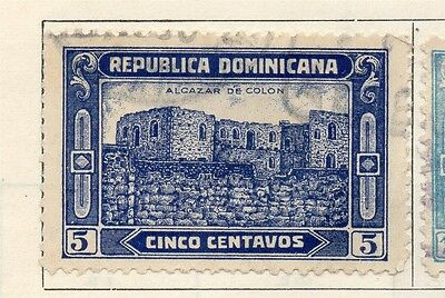 Dominican Republic 1928 Early Issue Fine Used 5c. 104144