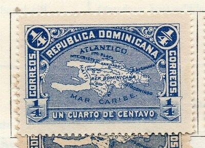 Dominican Republic 1900 Early Issue Fine Mint Hinged 1/4c. 104149