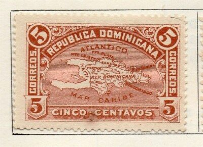 Dominican Republic 1900 Early Issue Fine Mint Hinged 5c. 104153