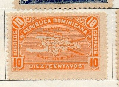 Dominican Republic 1900 Early Issue Fine Mint Hinged 10c. 104154