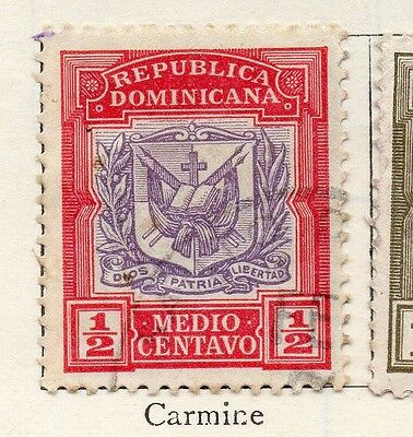 Dominican Republic 1901 Early Issue Fine Used 1/2c. 104158