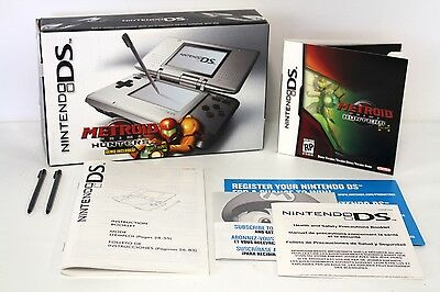 Nintendo DS Console Metroid BOX ONLY + Inserts + Stylus, 2004 [A19]