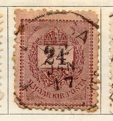Hungary 1898 Early Issue Fine Used 24kr. 104356