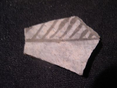 Ancient Real Pottery Shard--late Prehistoric~Historic Era---West Texas