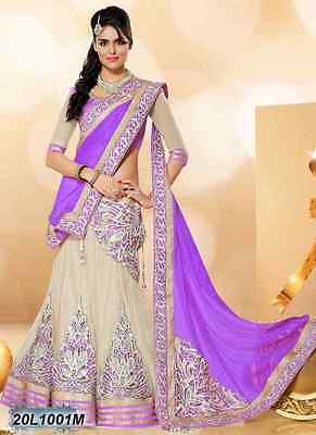 Lehenga Choli Bollywood Ethnic Wear Wedding Indian Pakistani Bridal Party Lehnga