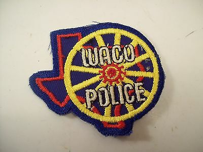 Waco Texas Police Department Patch