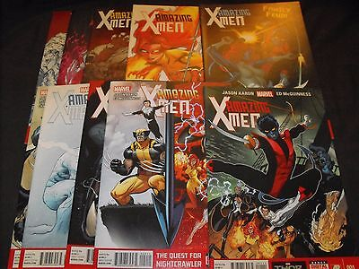Amazing X-Men Nightcrawler 1-10 2014 Marvel Comic Run 1 2 3 4 5 6 7 8 9 10 Total