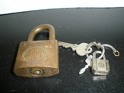 Vintage Corbin Cabinet Lock With Key New Britain Co Lubricate With Graphite