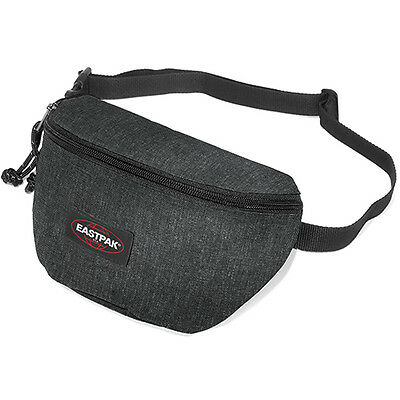 Eastpak Springer Unisex Bag Bumbag - Black Denim One Size