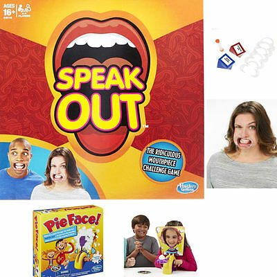 HOT Pie Face Showdown Game Dual Challenge ready to ship Family Time Speak out