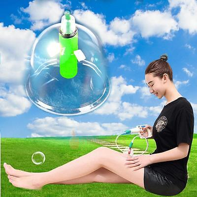 12 Cups Chinese Massage Medical Body Healthy Set Cupping Therapy Vacuum Suction
