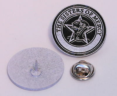 Sisters Of Mercy B/w Round Pin (Mba 637)
