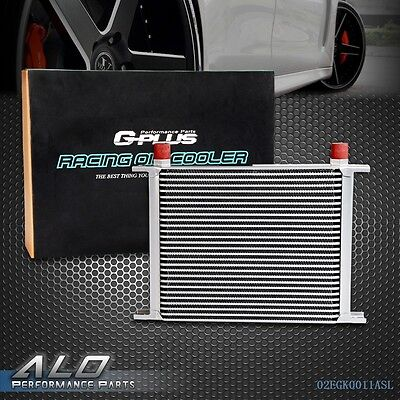 UK Gplus 28 Row AN-10 Universal Aluminum Engine Transmission Oil Cooler Kit