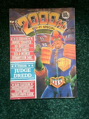 2000Ad Special, 2000Ad Sci Fi  Comic,special,  From 1985 , Features Judge Dredd