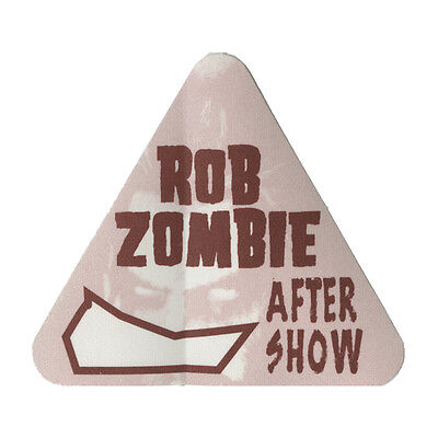 Rob Zombie Brown Aftershow 1998 Backstage Pass