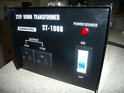 Showgun St-1000 Stepdown Transformer