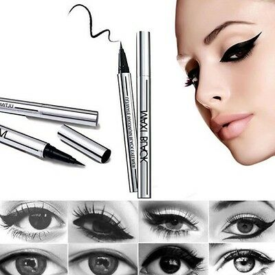 Liquid Black Eyeliner Long-Lasting Waterproof Eye Liner Pencil Pen Makeup Tools