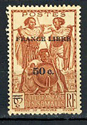 1942 -TIMBRE/COLONIES - COTE DES SOMALIS-NEUF.GOMME DEGRADEE- Yt.233 - LOT(C.3)