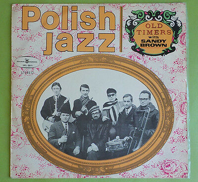"Lp Polish Jazz Old Timers With Sandy Brown Muza Sxl 0511 12"" Vinyl Schallplatten"