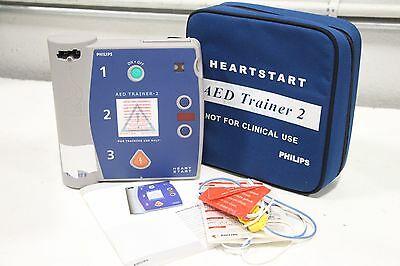 Laerdal Philips AED Trainer 2 Heartstart M3752A + Free SH