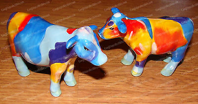 Cow Therapy Ceramic Salt & Pepper Shakers (Marcia Baldwin by Westland, 15796)