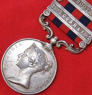 Pre Ww1 British 2 Bar 1854 India General Service Medal War Bugler 44Th Regiment