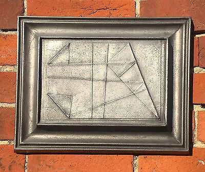 "Ted Atkinson FRBS RE (1929-2016) ""Untitled- Fold Relief"" aluminium pre80s"