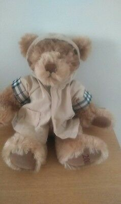 Peluche Ours Burberry  2007  26Cm