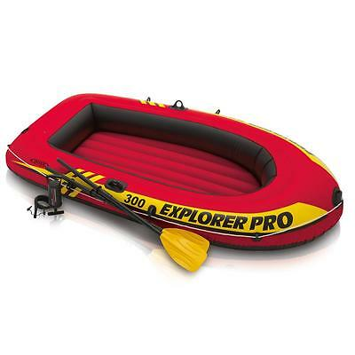 Intex 58358 Explorer Pro 300 Bote Hinchable Barco Canoa Inflable Mar Río Lago