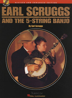 Earl Scruggs and The 5-String Banjo TAB Music Book/CD Learn How to Play Method