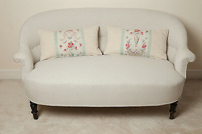 Antique French Napoleon III sofa