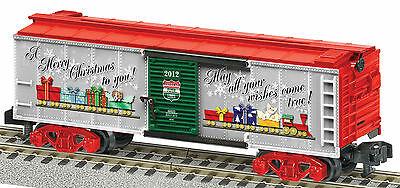 AF 6-48825 S Scale American Flyer 2012 Christmas Boxcar