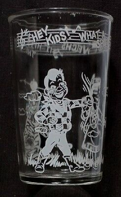 Vintage Welch's Howdy Doody Juice Glass - 1953