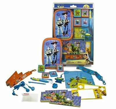 Toy Story Accessory Kit for Nintendo DS Lite / DSi Cases,Headphones,Stickers,Pen