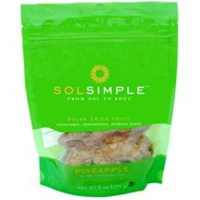 Dried Fruit Pineapple 6 OZ (Pack of 6)