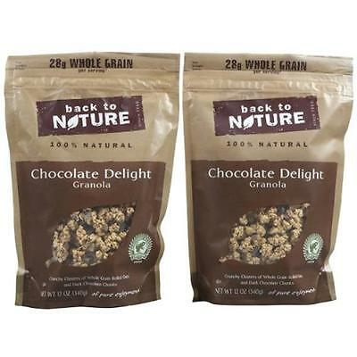 Back To Nature Granola Chocolate Delight Pouches (Pack of 6)